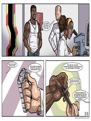 Interracial Comics License to Fuck- John Persons Porn Comic 11