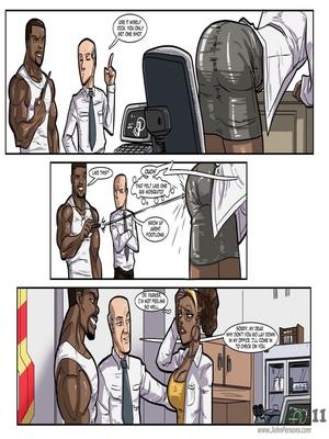 Interracial Comics License to Fuck- John Persons Porn Comic 12
