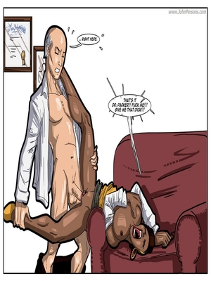 Interracial : License to Fuck- John Persons Porn Comic sex 14