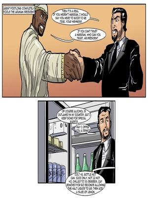 Interracial Comics License to Fuck- John Persons Porn Comic 18