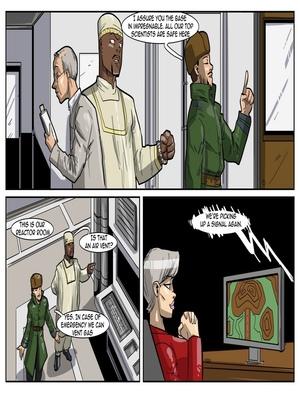 Interracial Comics License to Fuck- John Persons Porn Comic 21