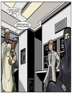Interracial Comics License to Fuck- John Persons Porn Comic 23