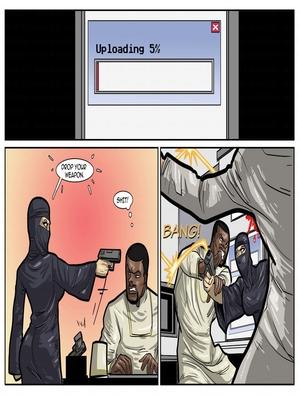 Interracial Comics License to Fuck- John Persons Porn Comic 25