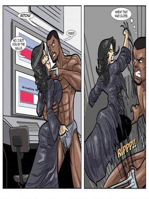 Interracial : License to Fuck- John Persons Porn Comic sex 29