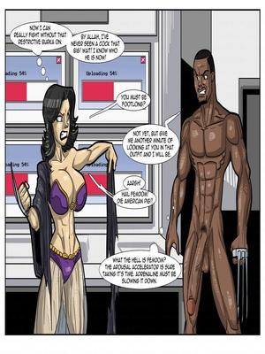 Interracial : License to Fuck- John Persons Porn Comic sex 30