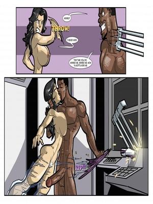 Interracial Comics License to Fuck- John Persons Porn Comic 32