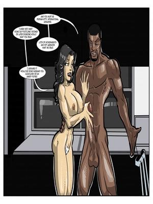 Interracial : License to Fuck- John Persons Porn Comic sex 33