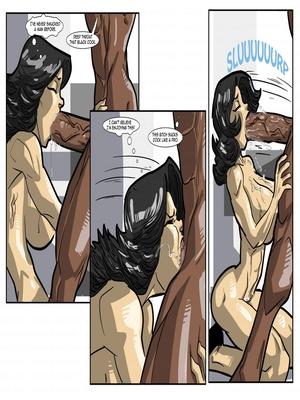 Interracial Comics License to Fuck- John Persons Porn Comic 35