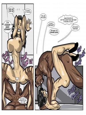 Interracial : License to Fuck- John Persons Porn Comic sex 39