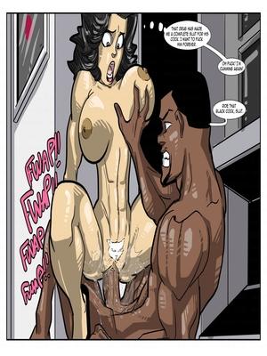 Interracial : License to Fuck- John Persons Porn Comic sex 40
