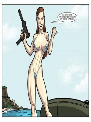 Interracial Comics License to Fuck- John Persons Porn Comic 49
