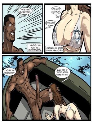 Interracial Comics License to Fuck- John Persons Porn Comic 53