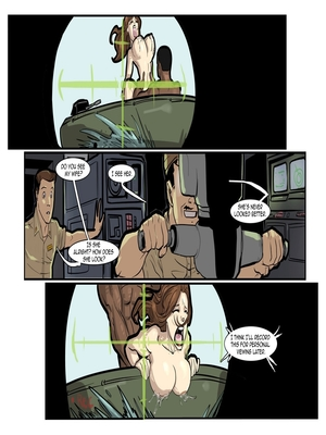 Interracial Comics License to Fuck- John Persons Porn Comic 56