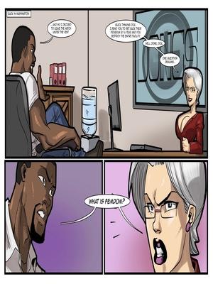 Interracial Comics License to Fuck- John Persons Porn Comic 65