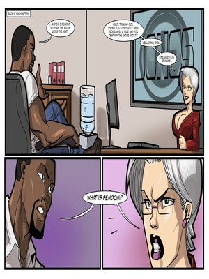 Interracial : License to Fuck- John Persons Porn Comic sex 65
