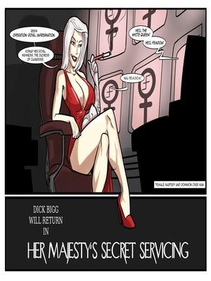 Interracial : License to Fuck- John Persons Porn Comic sex 68