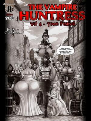 Porn Comics - Linda & Cervolex- Vampire Huntress Vol 4 [Town Festival] free Porn Comic