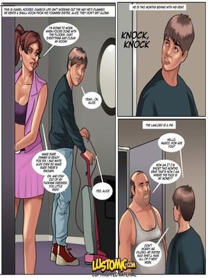 Adult Comics Lustomic – Daniel's Big Break Porn Comic 01