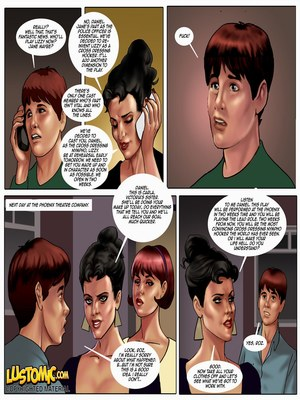 Adult Comics Lustomic – Daniel's Big Break Porn Comic 04