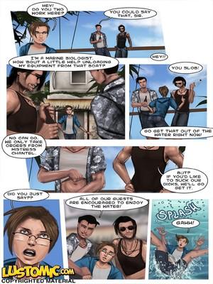 Porncomics Lustomic- Plastic Beach Sissy Porn Comic 05