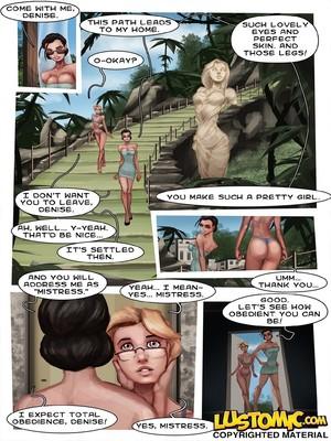 Porncomics Lustomic- Plastic Beach Sissy Porn Comic 14