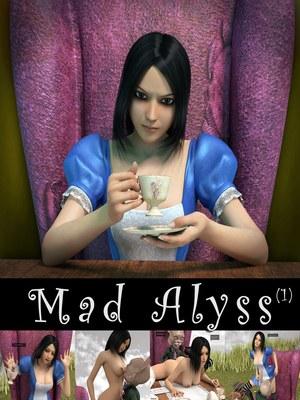 Porn Comics - 3D : Mad Alyss- Amusteven (Alice in Wonderland) Porn Comico
