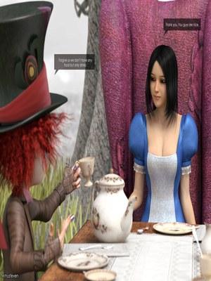 3D Porn Comics Mad Alyss- Amusteven (Alice in Wonderland) Porn Comic 03
