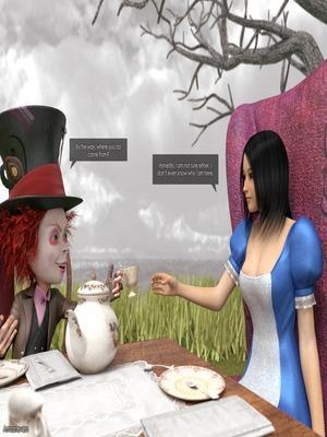 3D Porn Comics Mad Alyss- Amusteven (Alice in Wonderland) Porn Comic 04