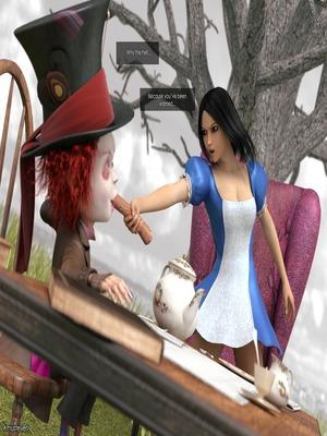 3D Porn Comics Mad Alyss- Amusteven (Alice in Wonderland) Porn Comic 09