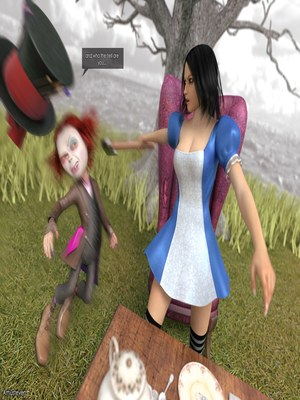 3D Porn Comics Mad Alyss- Amusteven (Alice in Wonderland) Porn Comic 10