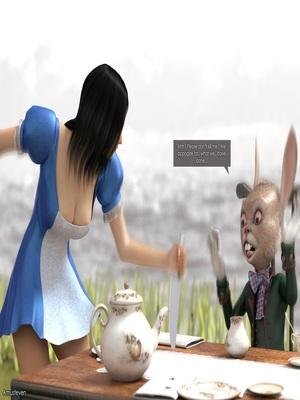 3D Porn Comics Mad Alyss- Amusteven (Alice in Wonderland) Porn Comic 12