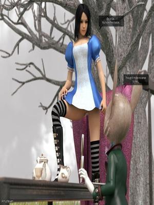 3D Porn Comics Mad Alyss- Amusteven (Alice in Wonderland) Porn Comic 15