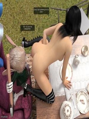 3D Porn Comics Mad Alyss- Amusteven (Alice in Wonderland) Porn Comic 38