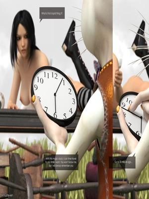 3D Porn Comics Mad Alyss- Amusteven (Alice in Wonderland) Porn Comic 51
