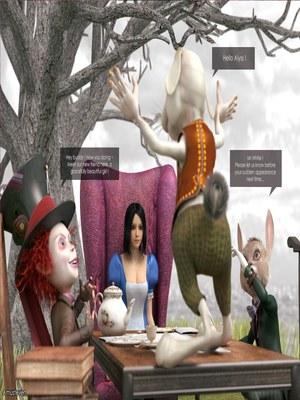3D Porn Comics Mad Alyss- Amusteven (Alice in Wonderland) Porn Comic 52