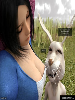 3D : Mad Alyss- Amusteven (Alice in Wonderland) Porn Comic