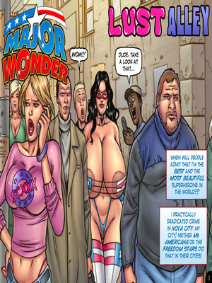 Porn Comics - XXX – Major Wonder- Lust Alley Porn Comic