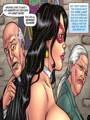 Adult Comics Major Wonder- Lust Alley Porn Comic 02