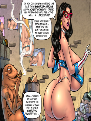 Adult Comics Major Wonder- Lust Alley Porn Comic 09