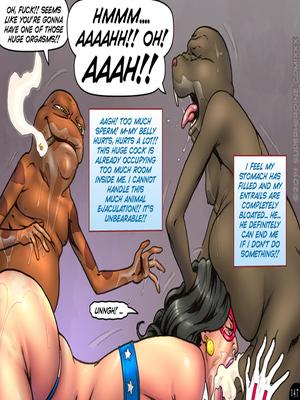 Adult Comics Major Wonder- Lust Alley Porn Comic 158
