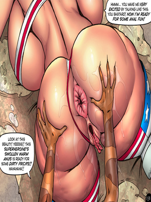 Adult Comics Major Wonder- Lust Alley Porn Comic 168