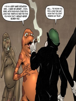 Adult Comics Major Wonder- Lust Alley Porn Comic 173