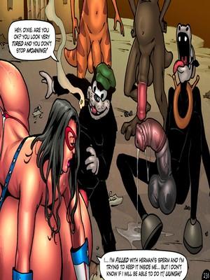 Adult Comics Major Wonder- Lust Alley Porn Comic 243