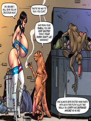 Adult Comics Major Wonder- Lust Alley Porn Comic 26