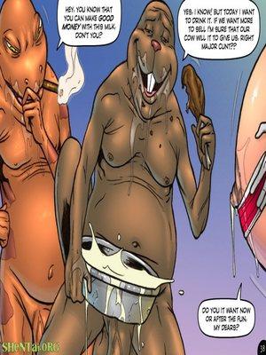 Adult Comics Major Wonder- Lust Alley Porn Comic 50