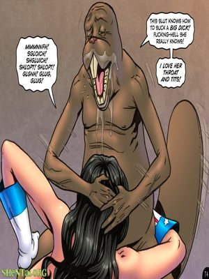 Adult Comics Major Wonder- Lust Alley Porn Comic 86