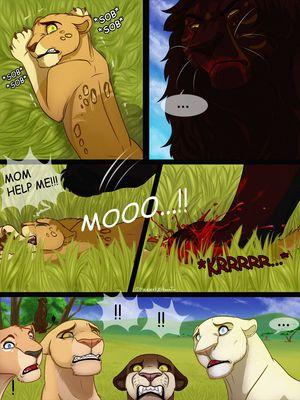 Furry Comics Malaika4- Cursed Blood Porn Comic 05
