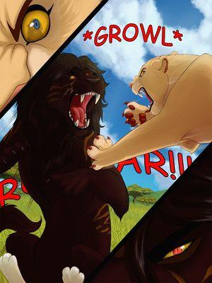 Furry Comics Malaika4- Cursed Blood Porn Comic 17