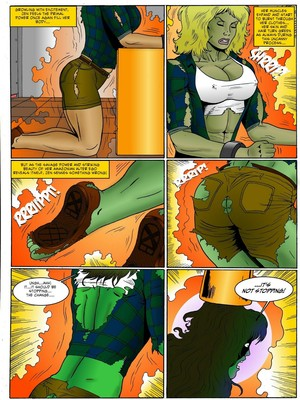 Adult Comics Manic- Gamma Monster Porn Comic 08