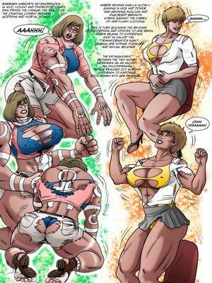 Porncomics Manic- Urtha The Unstoppable- Entaglement Porn Comic 06